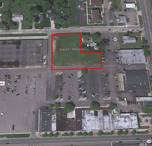 1.35 Acres of Vacant Land in Garden City