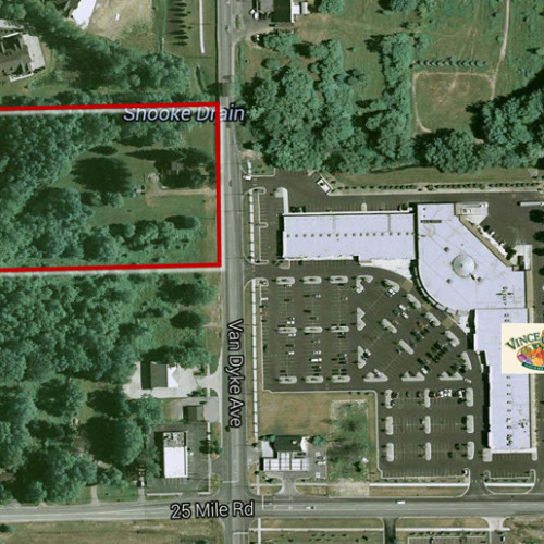 5 Acres for sale in Shelby Township