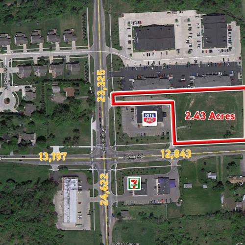 2.43 Acres for sale in Sterling Heights