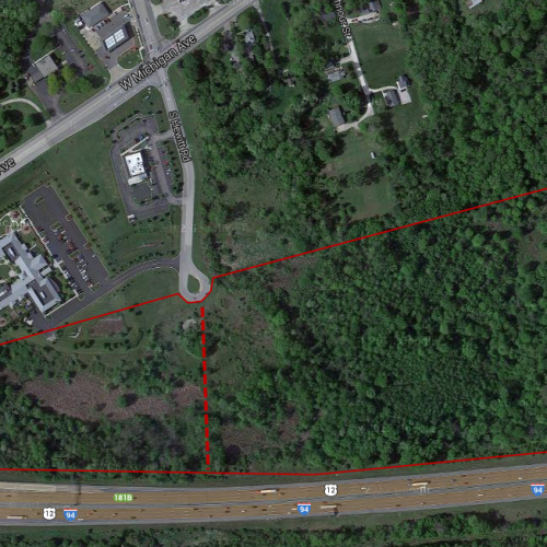 30 Acres available off of Michigan Ave and Hewitt Rd