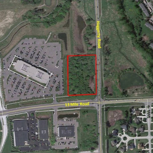 Land available at 13 Mile Rd. & Haggerty Rd.