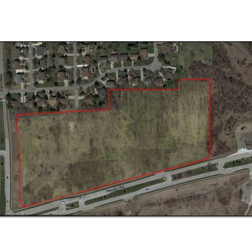 28 Acres in Rochester Hills! Prime Build to Suit Site