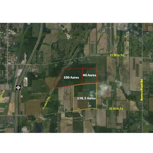 Potential residential development 140+ Acres