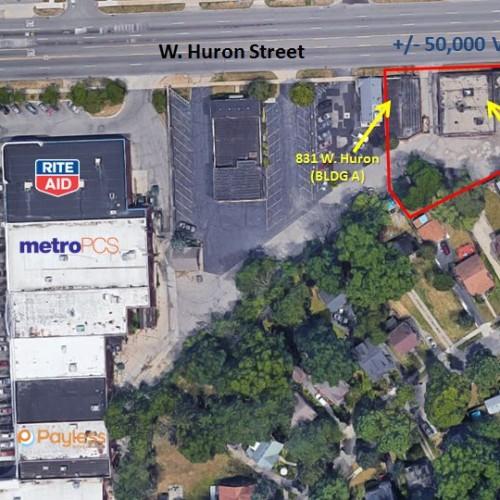 821-825 & 831 W. Huron Street Pontiac, Michigan