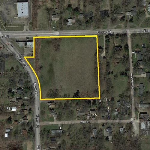 4.32 Acres Vacant Land Wayne Rd @ Ecorse Rd