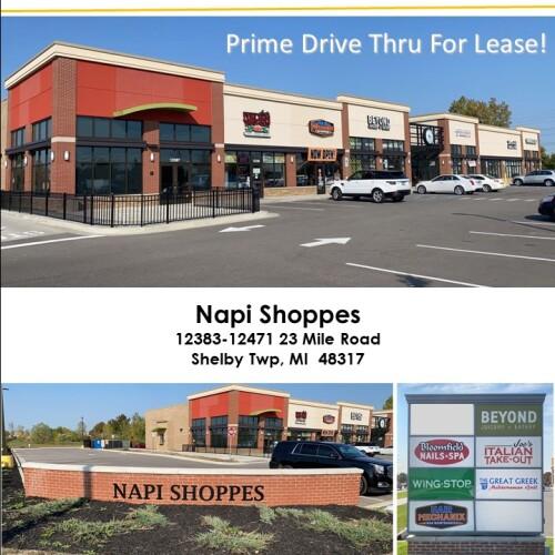Napi Shoppes – 12387 23 Mile Rd, Shelby Twp