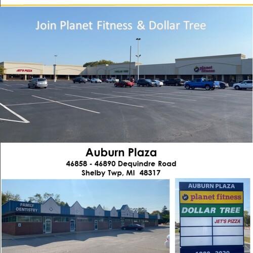 Auburn Plaza, 46858-46890 Dequindre Rd, Shelby Twp.