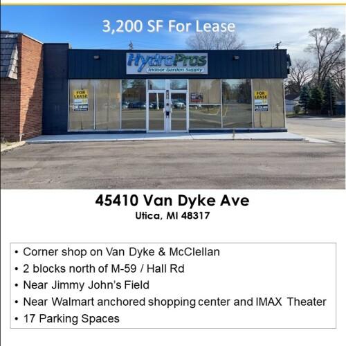 45410 Van Dyke Ave, Utica